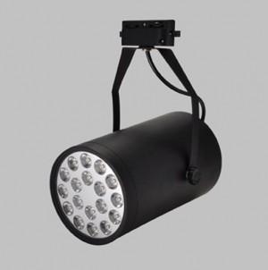 Z770WW_BL - Oprawa szynowa LED TRACK HIGH POWER LED 18W (18x1W) 1800LM=150W 230V biała ciepła 3000K 120 stopni ( adapter 3 fazowy - 4 pin adapter 3 phase )