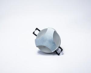 Oprawa NEBULA dekoracyjna ścienna / sufitowa 1W 1x1W 230V IP20 mrożona osłona, efekt 3 stron