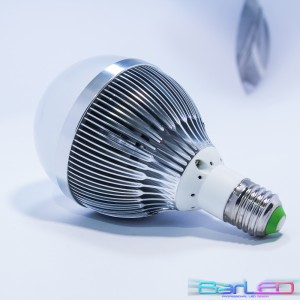E27 HIGH POWER LED 12W 1200LM 230V BIAŁA CIEPŁA 3000K 180st. GLOBAL