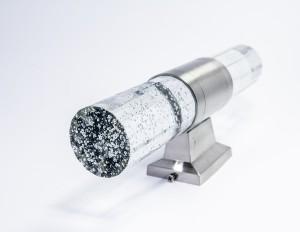 Z746W - Oprawa GASS ścienna dekoracyjna zewnętrzna 6W 2x3W 600LM 230V biała ciepła 3000K IP54; fi60xW115xH225mm