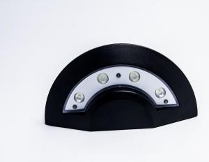 Z748W - Oprawa STEPUFO ścienna zewnętrzna 4W 4x1W 400LM 230V biała ciepła 3000K IP54; 245x65x125mm