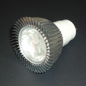 Z163 - GU10 HIGH POWER LED 3W (3x1W) 300LM 230V B.CIEPŁA 2600K 60st.
