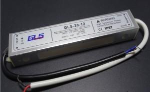 Z107 - Zasilacz impulsowy LED wodoodporny  IP67 12V DC 2.5A 30W
