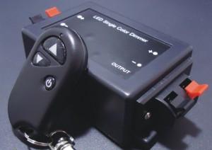 Z230 - Ściemniacz LED RADIOWY 1 kanałowy 12V 8A 96W z pilotem RF