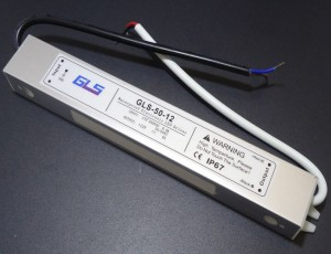Z252 - Zasilacz impulsowy LED wodoodporny  IP67 12V DC 4A 48W