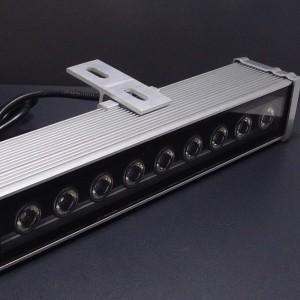 Z291c - Naświetlacz ( reflektor ) liniowy WALL WASHER 9W 9x1W HIGH POWER LED 230V (barwa b. zimna)