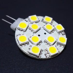 Z395 - G4 12 POWER LED SMD 5050 2,5W 190LM  DC12V/AC 10-30V  BIAŁA CIEPŁA 3100K