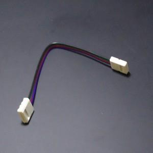 Z465 - Szybkozłaczka do taśm LED RGB dwustonna / kątowa / narożna