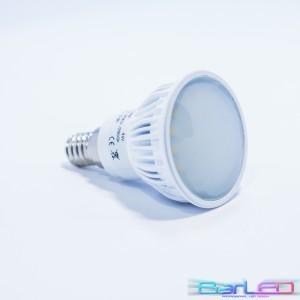 E14 27 POWER LED SMD 2835 4W 500LM=50W 230V BIAŁA CIEPŁA 2900K