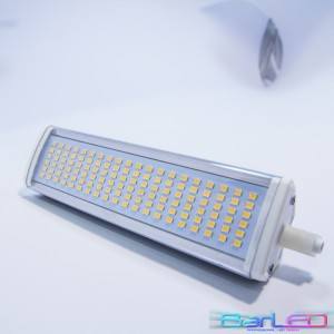 Żarnik LED R7S 78mm 36xSMD 2835 6W 600LM 230V; Rozmiar 78x45x38mm; BIAŁA CIEPŁA 3000K