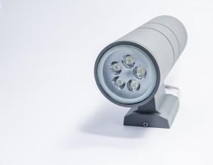 Z749W - Oprawa TUBASSA ścienna dekoracyjna zewnętrzna 10W 2x5W 1000LM 230V biała ciepła 3000K IP54: fi90xW155xH260mm