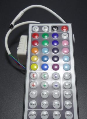 Z103 - Kontroler RGB 12V 3x2A z pilotem 44 przyciski