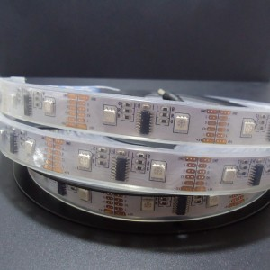 Z142 - Taśma MAGIC DIGITAL RGB IC SPI  160 SMD 5050/5m wodoodporna IP68 48W 5V DC