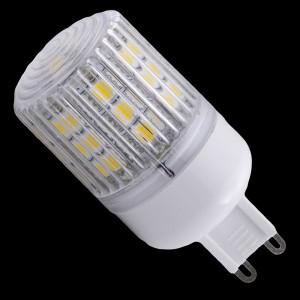 Z222 - G9 24 POWER LED SMD 5050 3,5W 380LM 230V BIAŁA CIEPŁA 2800K