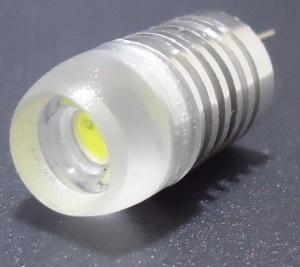 Z270 - G4 HIGH POWER LED 1,5W 130LM=15W 12V DC BIAŁA CIEPŁA 3100K 360st.