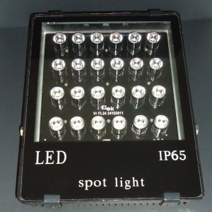 Z545- Naświetlacz ( reflektor )  36W 36x1W HIGH POWER LED 3600LM 230V 3000K IP65 (biała ciepła)