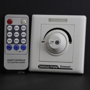 Z443 - DMX: Kontroler ściemniacz DMX z pilotem IR regulacja 0-100% co 10%