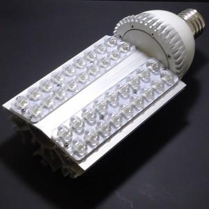 Z463- Żarówka / lampa uliczna E27/ E40 38W 36x1W HIGH POWER LED 3600LM 230V B.ZIMNA 7000K  160st. IP20 (opcja: 12V , 24V)