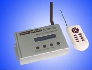 Z548-  sterownik DMX z radiowym pilotem - DMX remote controller