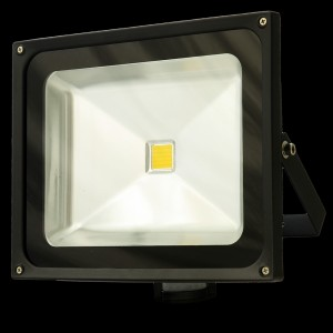 Naświetlacz ( reflektor ) MULTICHIP 30W  HIGH POWER LED, odp.300W 230V 3500K z czujnikiem ruchu
