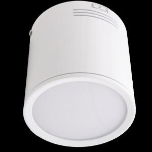 Z613 - LAMPA NATYNKOWA BIAŁY ROUND HIGH POWER LED 18W (18x1W) 1800LM=150W 230V BIAŁY CIEPŁY 3000K; kolor obudowy biały