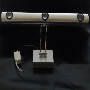 Z619W - Oprawa ORBIT WARM dekoracyjna ścienna / kinkiet  obrazowa 3W 3x1W 300LM 230V IP20 biała ciepła 3000K