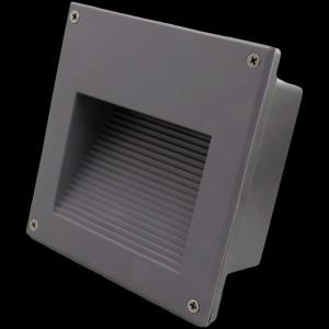 Z623P - Oprawa MILKY WAY WARM dekoracyjna schodowa zewnętrzna 3W 3x1W 300LM 230V IP65 biała naturalna 5000K