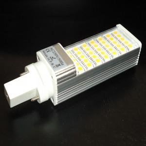 Z652 - G23 35 SMD 5050 7W 700LM 230V BIAŁA CIEPŁA 2900K 120 st. przeźroczysta osłona