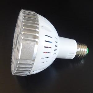 Z678 - E27 PAR30 16x2W HIGH POWER LED CREE 35W 2700LM=200W 230V BIAŁA CIEPŁA 3000K 40 stopni
