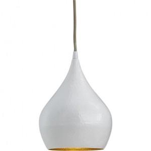 LAMPA Wisząca GRUSZKA / PEAR BIAŁA SMD 2835 18W 2000LM=175W 230V BIAŁY CIEPŁY 3000K 120 st.