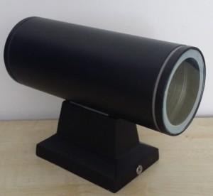 Z749P - Oprawa TUBASSA ścienna dekoracyjna zewnętrzna / external 10W 2x5W 1000LM 230V biała naturalna 4500K IP54; size: fi90xW155xH260mm