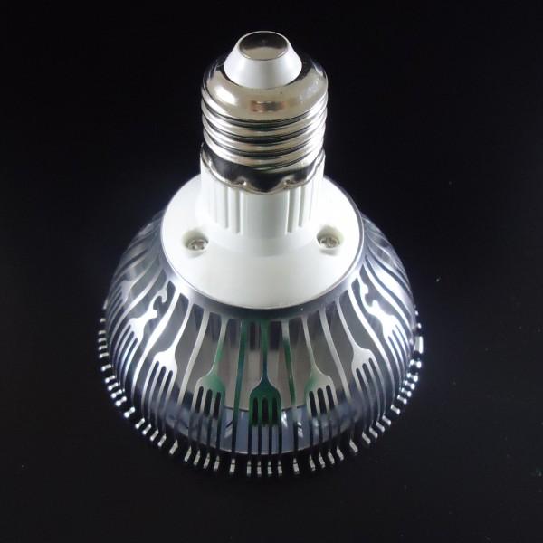 Żarówka LED E27 PAR30 9x1W HIGH POWER LED 9W 1100LM=80W 230V BIAŁA CIEPŁA 3000K 120 stopni