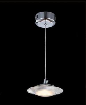 Lampa wisząca UFO 5W 380LM 230V SMD 2835 mrożony akryl BIAŁY CIEPŁY 3000K