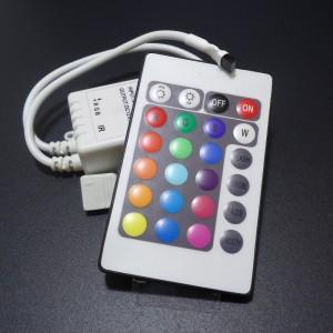 Z154 - Kontroler RGB 12V 3x2A z pilotem 24 przyciski