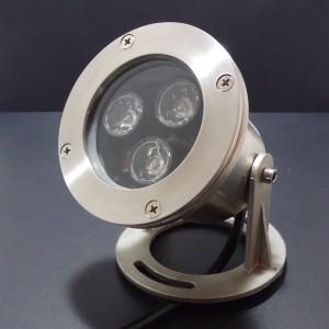 Z175 - Lampa LED zewnętrzna podwodna IP68 3x1W AC12V 140-170LM 60st. RGB