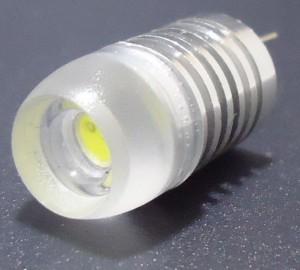 Z271 - G4 HIGH POWER LED 1,5W 130LM=15W 12V DC BIAŁA ZIMNA 6000K