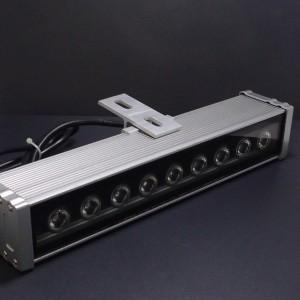 Z295w - Naświetlacz ( reflektor ) liniowy WALL WASHER 9W 9x1W HIGH POWER LED 230V (barwa b. ciepła)