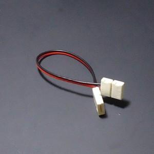 Z464 - Szybkozłaczka do taśm jednokolorowych LED 8mm dwustonna / kątowa / narożna