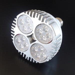 Z671 - E27 PAR30 16x2W HIGH POWER LED CREE 35W 2700LM=200W 230V BIAŁA CIEPŁA 3000K 15 stopni