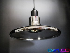 Lampa sufitowa natynkowa VINTAGE czarna z gniazdem MR16 + Żarówka