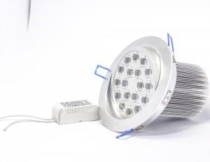 Oprawa DOWNLIGHT 18W 18x1W 1800LM 230V 120 stopni IP20  regulowana 30st.