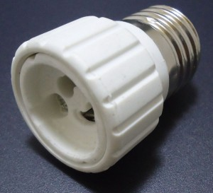 Adapter GU10-E27