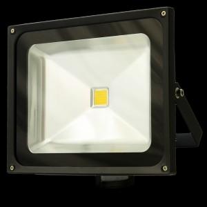 Naświetlacz ( reflektor ) MULTICHIP 50W  HIGH POWER LED, odp.450W 230V 7000K z czujnikiem ruchu