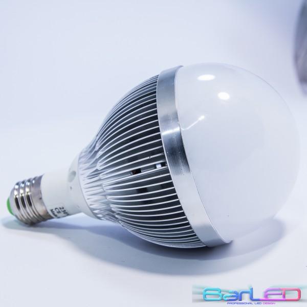 E27 HIGH POWER LED 12W 1200LM 230V BIAŁA CIEPŁA 3000K 180st. GLOBAL