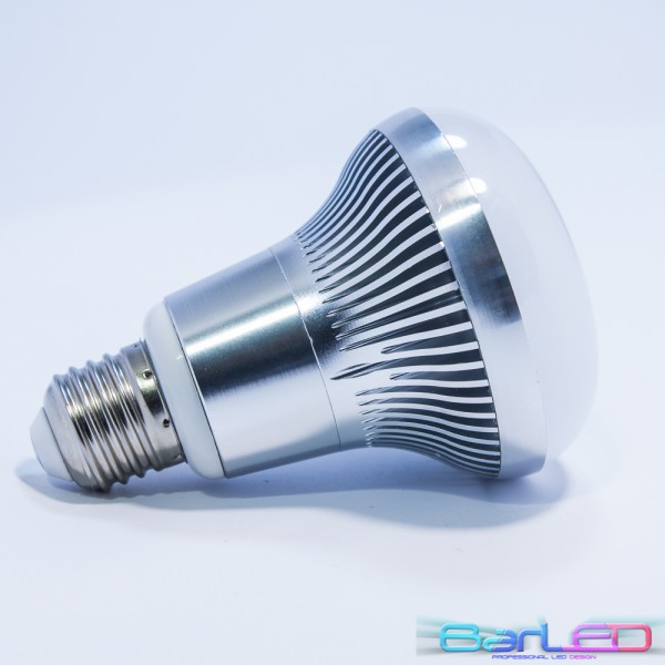E27 R80 36 POWER LED SMD 2835 O/W 20LM/chip 7,2W 230V 700LM=60W BIAŁA CIEPŁA 2900K