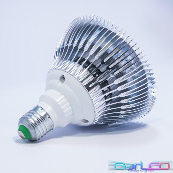 Żarówka LED E27 PAR38 18x1W HIGH POWER LED 18W 2000LM=175W 230V BIAŁA CIEPŁA 3000K 120 stopni