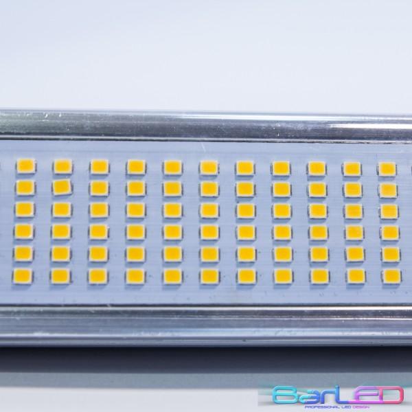 Żarnik R7S 78mm 36xSMD 2835 6W 600LM 230V; Rozmiar 78x45x38mm; BIAŁA CIEPŁA 3000K