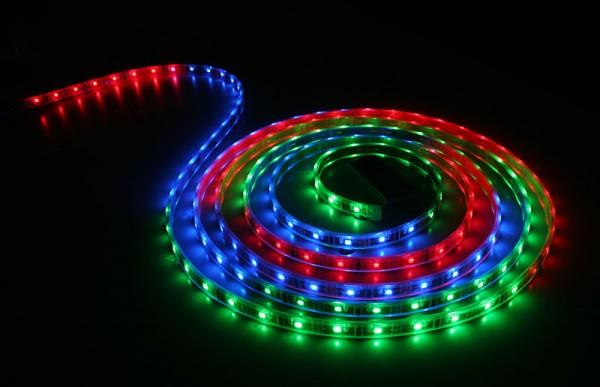 Taśma RGB 150 SMD 5050/5m wodoodporna w żelu IP54 36W