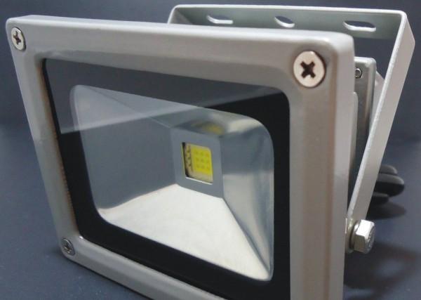 Naświetlacz ( reflektor ) MULTICHIP 10W  HIGH POWER LED, LL, odp.100W 230V 7000K