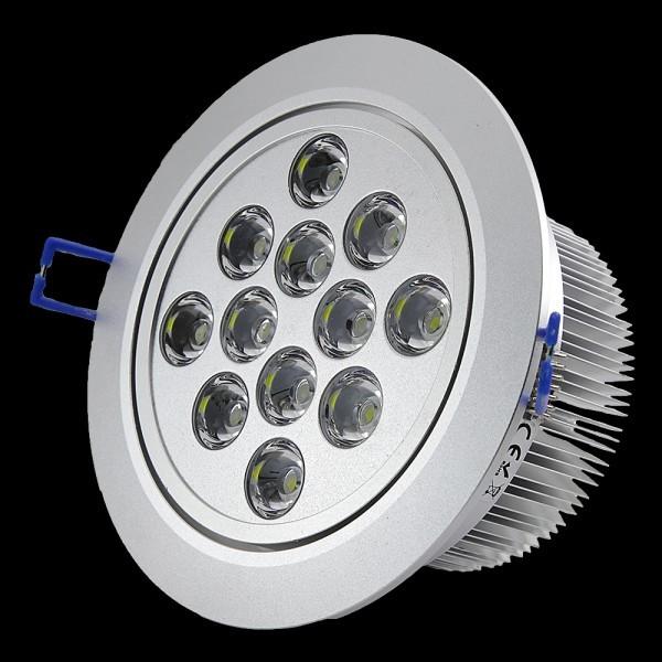 Oprawa DOWNLIGHT 12W 12x1W 1200LM 230V 120 stopni IP20  regulowana 30st.